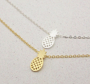 Pineapple Pendant Necklace