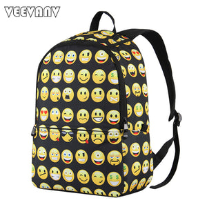 VEEVANV Smiley Men Backpack
