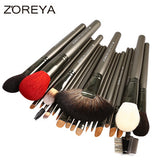 ZOREYA 26pcs Highl Quality Makeup Brushes