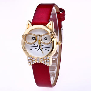 Cute Miss Cat Women-watch