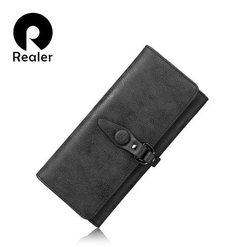 REALER women multi card wallet