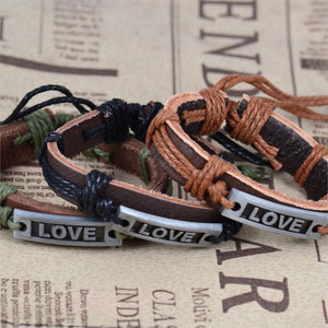Jiayiqi Genuine Leather Bracelets