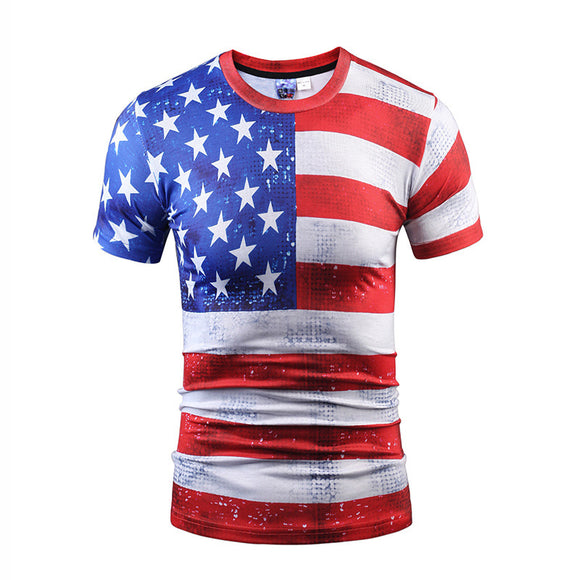American Proud US Flag T-shirt