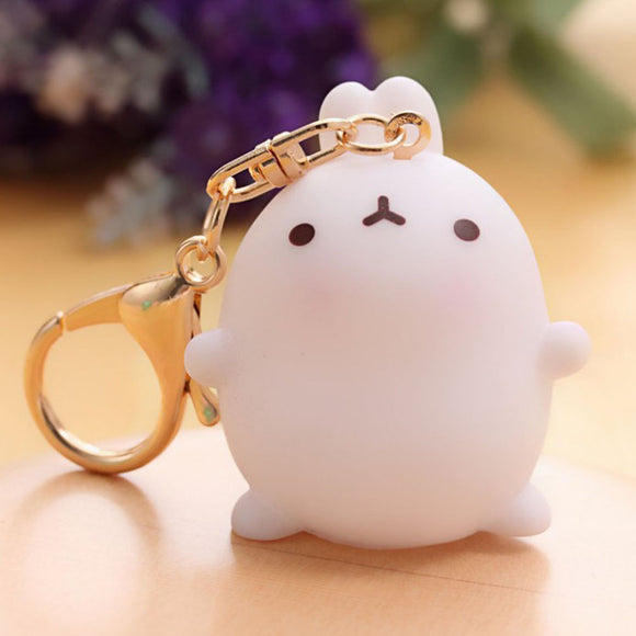 Cartoon Bunny Keychain
