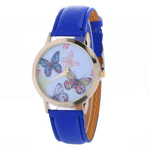 Cute Butterfly Women-watch