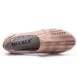 Oberfy Mickle Cut-outs Shoes