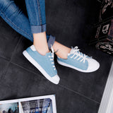 Canvas Flat Shoes
