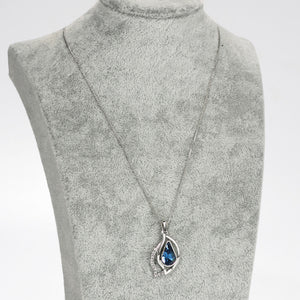 Neoglory Austria Crystal & Zircon Pendant Necklace