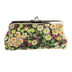 Flower Printed Design Wallet