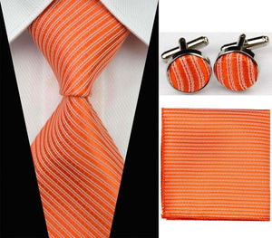 Business Silk Tie Set - FREE SHIPPING
