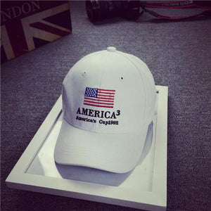 COKK USA Flag Baseball Cap