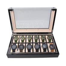 Collection Case For 12 Watches