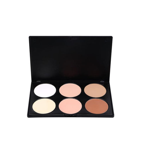 6 colors professional Eyebrow Powder