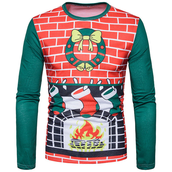 Xmas Fireplace Sweater