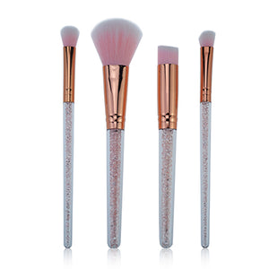Crystal Makeup Brushes (4 pieces)