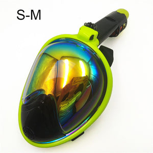 Clear View Snorkeling Mask