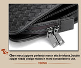 Oberfy Genuine Leather Laptop Bag