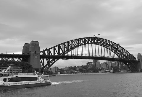 B&W Sydney Harbour Bridge, Australia