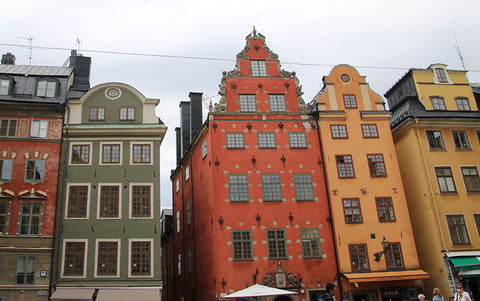 Buildings on Gamla Stan
