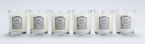 Luxury scented travel candles, the perfect travelling companion from Taylor Benfield