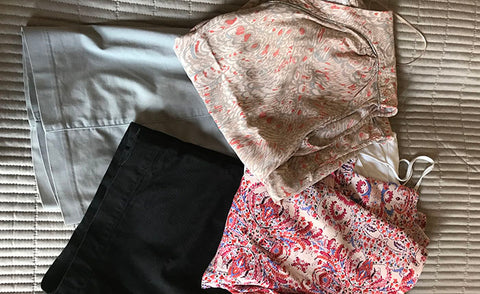 Daywear options - Top tips for packing blog from Taylor Benfield