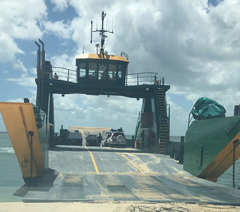 Ferry to Fraser Island - Taylor Benfield blog
