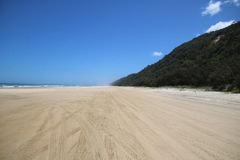 Great sandy highway, Great Beach Road, Queensland, Australia