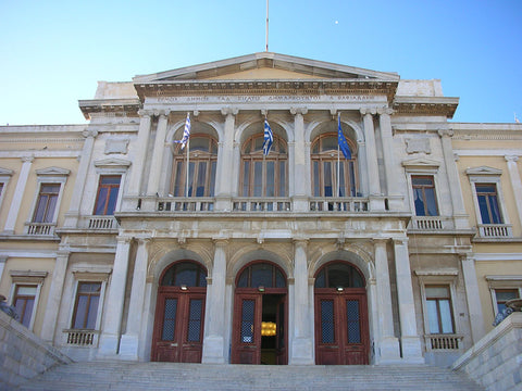Town Hall in Syros