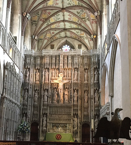 Inside St Albans Abbey