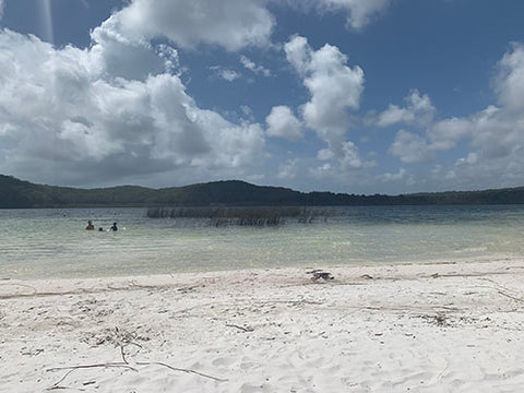 Lake Birrabeen, Fraser Island, Blog by Taylor Benfield