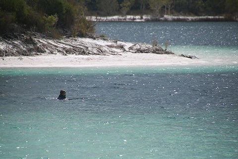 Lake McKenzie on Fraser Island - blog from Taylor Benfield