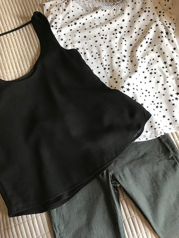 Evening outfits for a weekend away