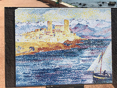 Art in and around antibes