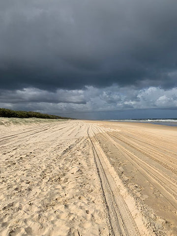 Sandy Highway on Fraser Island, Taylor Benfield blog