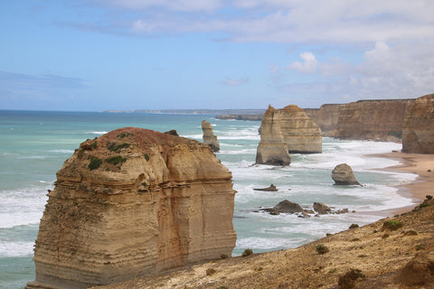 12 Apostles, great Australian coastline along the Great Ocean Road