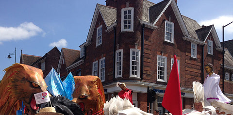 St Alban Procession in June
