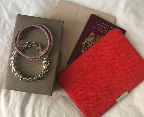 Kindle, Ipad, Jewellery and passport - all go in hand luggage