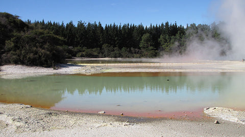 Hot Springs - Taupo, NZ