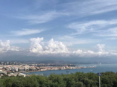 View from la Chapelle de Garoupe, antibes