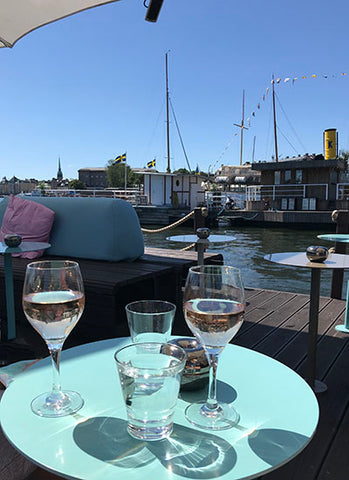 Drinks on the water, Stockholm