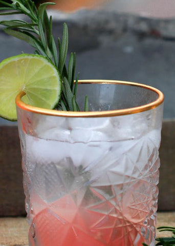 Gin & Tonic's with lime - Scents of Summer blog from Taylor Benfield