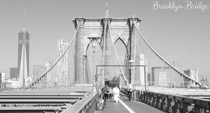 Brooklyn Bridge, New York - Taylor Benfield Luxury Scented Spiced Noir Candle