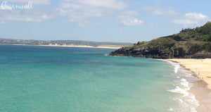 Porthminster Beach, St Ives, Cornwall - Taylor Benfield Luxury Scented Summer Haze Candle