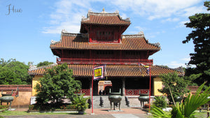 Temples in Hue, Vietnam - Taylor Benfield Luxury Scented Crimson Rose & Oud Candle