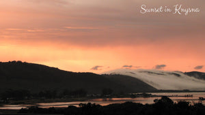 Sunset in Knysna - Taylor Benfield Luxury Scented Summer Haze Candle