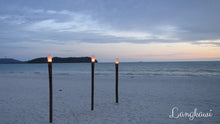 Beach at night in Langkawi, Malaysia - Taylor Benfield Spiced Noir Luxury Scented Candle