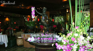 Flowers and Statue in Thailand - Taylor Benfield Luxury Scented Citrus & Lemongrass Candle