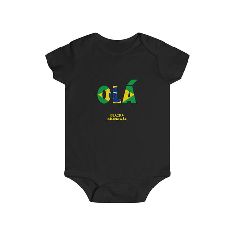 Olá! Infant Greetings Collection Onesie