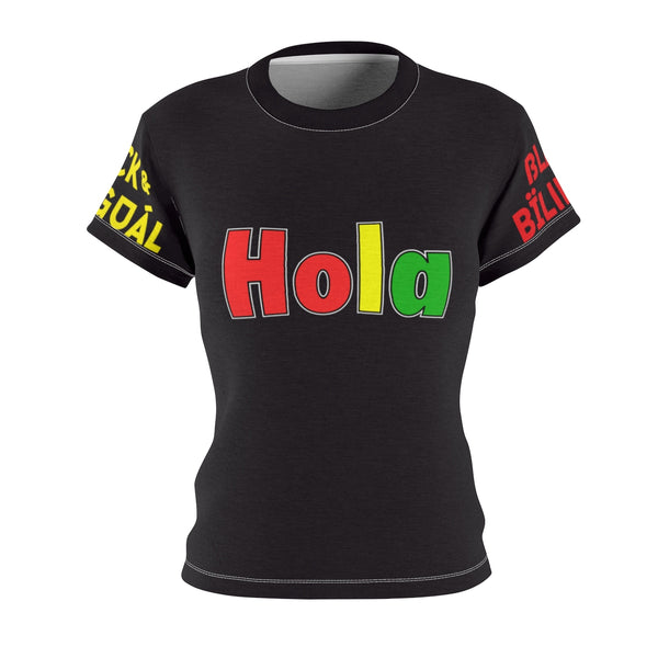 Hola! Women's Greetings Collection Tee