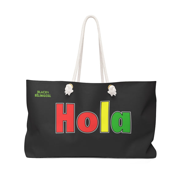 Hola! Weekender Greetings Collection Bag